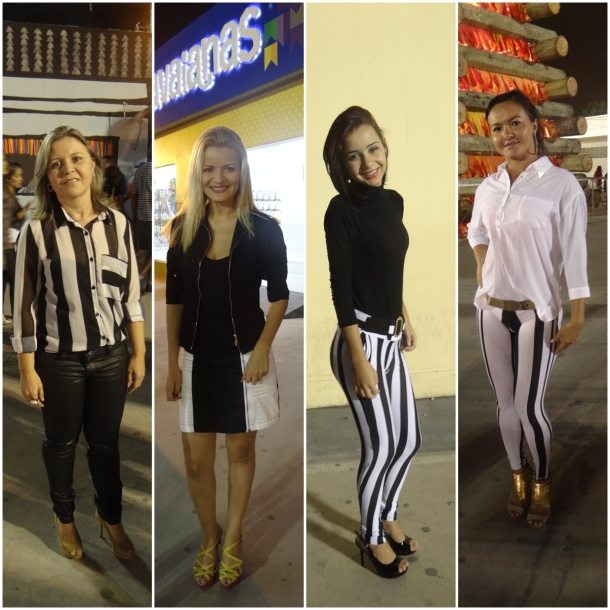 Fatima Feitosa, Mari Oliveira, Andreza Lima e Simone de Almeida usam a tendência