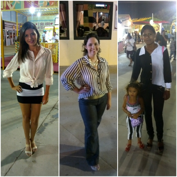Luana Larissa, Ana Luiza e mãe e filha, Patrícia e Evillyn